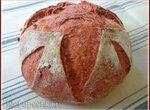 Хлеб со свеклой на спелом тесте (духовка)