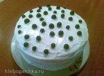 Торт Ягоды на снегу в мультиварке Bork U700