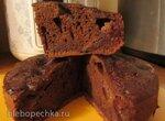 Шоколадный пирог со сливами в мультиварке Polaris 0508D floris