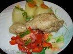Курица в собственном соку в дуэте с картофелем (скороварка Polaris 0305)