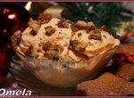 Тыквенное мороженое с имбирным печеньем (мороженица Brand 3812)