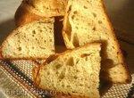 Хлеб яблочно-медовый с цельнозерновой пшеничной мукой