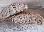 Хлеб Vermont Sourdough, адаптированный под закваску влажностью 100%