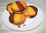 Сандвич-печенье с ореховой нугой