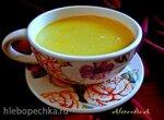 Гороховый суп-пюре с карри