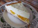 Пирог творожный  с абрикосами Нежный в мультиварке Panasonic SR-TMH18