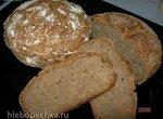 Многозерновой хлеб на кефирной закваске, без замеса (в духовке)