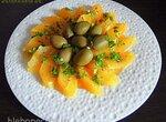 Пряный салат из апельсинов