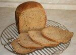 Пшенично-ржаной хлеб со смесью перцев (хлебопечка)