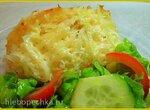 Картофель paille, запеченный с сыром и сметаной ( мультиварка BRAND 701)