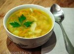 Суп из зеленого колотого гороха (мультиварка Brand 701)