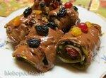 Десерт из баклажан (Melanzane al cioccolato alla Calabrese )