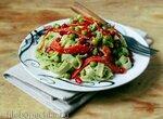 Зеленый соус из авокадо плюс рецепт пасты