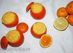 Десерт «Мандарины фаршированные» (Mandarini ripieni)