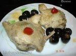 Куриные бёдрышки, тушённые с маслинами (скороварка Polaris 0305)
