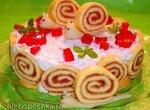 Торт Весёлые улитки