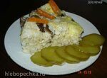 Рисовая запеканка с печенью и грибами (скороварка Polaris 0305)