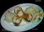 Фаршированная скумбрия и отварной картофель – блюдо-дуэт (скороварка Polaris 0305)