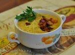 Суп-пюре пшённый с грудинкой (мультиблендер Profi Cook PC-МСМ1024)