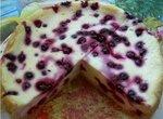 Пирог цветаевский с ягодами