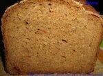 Пшенично-ржаной цельнозерновой хлеб Капустняк