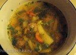Суп с фрикадельками в мультиварке Bork U800