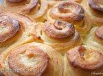Апельсиновые булочки с пропиткой