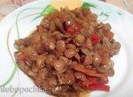 Гарнир из чечевицы с овощами Мулинекс Cook4Me