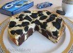 Брауни-чизкейк с печеньем Oreo в мультиварке Brand 701