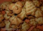 Кокосовое печенье (пресс-шприц для теста Tescoma)