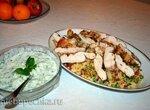 Кус-кус с греческим салатом (Д.Оливер)