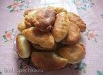 Пирожки с мясом и картошечкой, жареные в масле