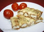 Блинчики гречишные, запеченные с сыром и творогом