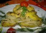 Овощная запеканка-слоёнка с грибами и фаршем на режиме Каша (скороварка Polaris 0305)