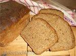 Хлеб пшенично-ржано-гречневый формовой в духовке