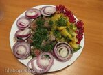 Мясо с картошечкой и маринованным лучком (мультиварка Redmond RMC-M70)