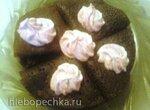 Шоколадные блинчики со сливками