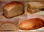 Хлеб пшеничный 50% цельнозерновой - подовый и формовой варианты (Jeffrey Hamelman)