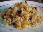 Плов с шампиньонами (постное блюдо) (скороварка Polaris 0305)