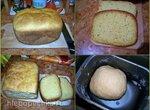 Пшеничный хлеб с манкой и морковью