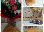 Panasonic 2501 Хлеб с сыром, сырокопченой колбасой, чесноком и травами