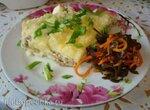 Картофельная запеканка в мультиварке Polaris 0508D floris и  PMC 0507d kitchen