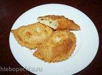 Чебуреки с картофелем (постные)