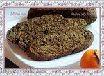 Шоколадно-мандариновый кекс (постный) в мультиварке Philips HD3060