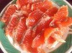 Семга малосольная (имбирь + красный перец)