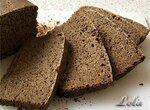 Хлеб ржаной на хмелевой закваске в хлебопечке