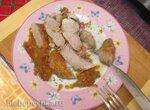 Утиная грудка с итальянскими травами и яблочным вареньем