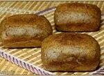 Порционный Бородинский хлеб из смеси (Брауни мейкер Tristar)