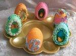 Сахарные яйца