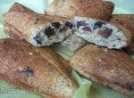 Печенье 5 зерновых с сухофруктами (сэндвичница Steba)